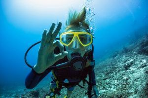 guantes buceo