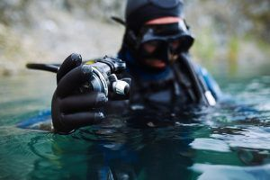 Talla guantes buceo